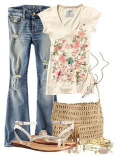Untitled #852 by kaishabackwards on Polyvore featuring polyvore, fashion, style, H&M, American Eagle Outfitters, Coach, Skemo, Bourbon and Boweties, maurices and clothing