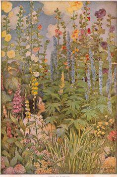 The Flowers by Robert Louis Stevenson