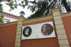 """""""Coined"""", Cartel de la #Exposición de David Trullo en el Museo Lázaro Galdiano #Madrid #Cartel #Affiche #Arterecord 2016 https://twitter.com/arterecord"""