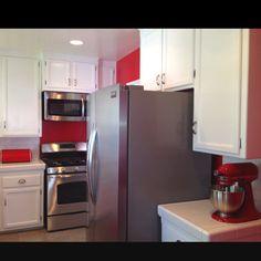 Our Retro Red Kitchen
