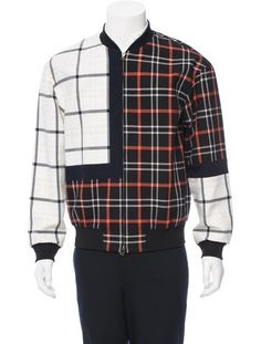 3.1 Phillip Lim Quilted Plaid Bomber Jacket w/ Tags