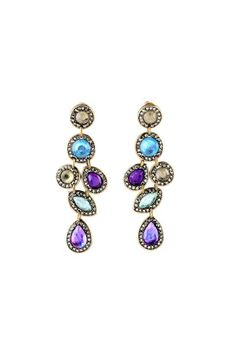 Stunning beautiful statement earrings. Great for all occasions.  Stunning Drop Earrings by galys fashion house. Accessories - Jewelry - Earrings Brooklyn New York City