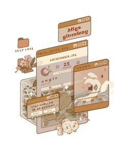 Aesthetic Stickers, Aesthetic Backgrounds, Aesthetic Iphone Wallpaper, Aesthetic Drawing, Aesthetic Art, Aesthetic Anime, Aesthetic Vintage, Arte Do Kawaii, Kawaii Art