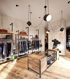 Visual merchandising is frequently assume as a mixture of art and science, so it can be a complex duty. Here are a list of concept for Visual Merchandising and Boutique Displays. Boutique Design, Design Shop, Shop Interior Design, Blog Design, Boutique Decor, Clothing Store Interior, Clothing Store Design, Fashion Store Design, Retail Store Design