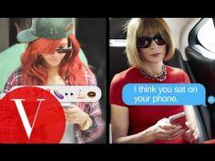 Rihanna Texts Anna Wintour - Vogue #fashion #motion