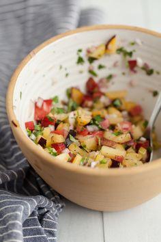 Stone Fruit Salsa #healthy #food