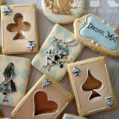 You Can Call Me Sweetie:  Alice in Wonderland theme