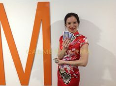 Chinese fortune teller to hire for weddings, corporate events and parties to give guests a warm welcome as they arrive at your Chinese New Year Event  Tel: 020 3602 9540 available to hire across MANCHESTER, newcastle, BIRMINGHAM, Bristol, BRIGHTON & LONDON http://www.calmerkarma.org.uk/Chinese-Themed-party-entertainment.htm