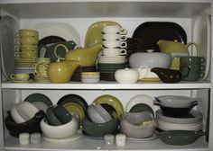 Russell Wright American Modern Pottery by Steubenville