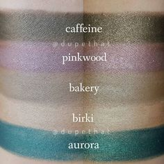 Nabla Cosmetics cream eyeshadow Rimmel, Maybelline, Makeup Geek, Eye Makeup, Nabla Cosmetics, Coloured Raine, Missha, Cream Eyeshadow, Shiseido