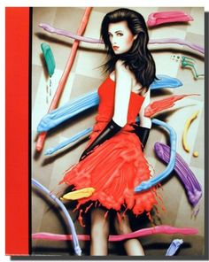 Give your interiors a makeover with this Vogue exotic women in red dress Scott Wilson fashion art print poster. This stunning poster really stands out and will surely look great on your room's wall. Your guests will definitely compliment you for your excellent taste. Hurry up and order this poster for its excellent quality with high degree of color accuracy.