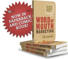 Word of Mouth Marketing goes hand-in-hand with marketing your business by referral. It is the meat and potatoes stuff behind the overall concept of networking your business. This book is full of practical strategies and is also a really fun read.