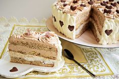 Tort cu dulce de leche Food Cakes, Tiramisu, Cake Recipes, Caramel, Ice Cream, Cooking, Ethnic Recipes, Desserts, Crochet