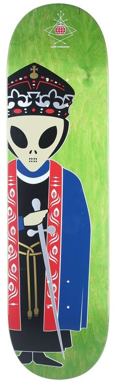 Alien Workshop Skate Deck.