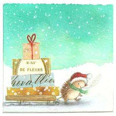 Aline ♥ Christmas Illustrations