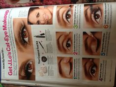 J.Lo's eye makeup look