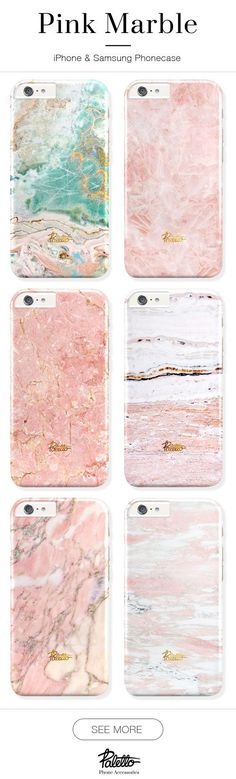 PINK marble phone case. Available for iPhone 6/6s, 6/6s plus, 5/5s/5c & Samsung galaxy S5, S6. Free shipping worldwide. #PhoneCase #Iphone6