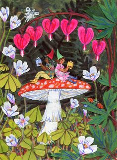 * Phoebe Wahl * Reading surrounded by nature!