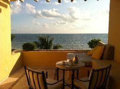Zoetry Paraiso de la Bonita: Balcony with morning coffee