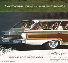 1960 Ford Station Wagons Brochure I OldBrochures.com