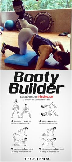 You can and you will get bigger, rounder and well toned butt fast with these top 10 effective butt e Fitness Workouts, Fitness Herausforderungen, Fitness Motivation, Easy Workouts, At Home Workouts, Health Fitness, Workout Routines, Glute Exercises At Home, Fitness Tracker