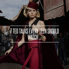 7 TED #Talks Every Teen #Should Watch ... → Teen #Nearly