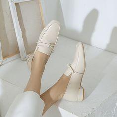 Women High Heels Adda Sandals Short High Heels Comfy Shoes For Women W – robobco Block Heel Loafers, Heeled Loafers, Loafer Shoes, Pumps Heels, Block Heels, Leather Loafers, Patent Leather, Women's Shoes, Mules Shoes Flat
