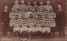Celtic team group in 1915.