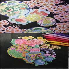 INSPIRATION  JAPON coloring book For Adults Children Relieve Stress Kill Time Secret Garden Painting Drawing Graffiti gift Book