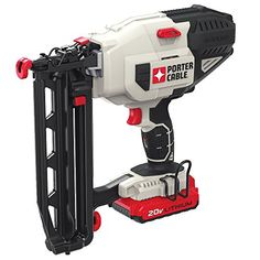 PORTER-CABLE Brad Nailer at Lowe's. The PORTER-CABLE MAX lithium brad nailer kit is battery powered which eliminates need for compressor, hose or costly gas Best Random Orbital Sander, Table Saw Stand, Finish Nailer, V Max, The Porter, Nail Gun, Porter Cable, Power Hand Tools, Electronic Recycling
