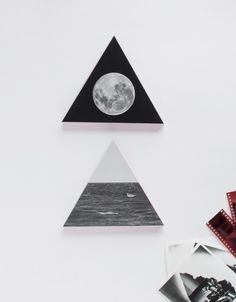 DIY Wooden Triangle Wall Decorations With Photos | Shelterness