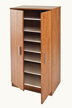 Tv Wall Cabinets, Storage Cabinets, Tall Cabinet Storage, Diy Shoe Storage, Diy Shoe Rack, Shoe Rack Closet, Wardrobe Design Bedroom, Double Rod Curtains, Rack Design