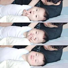 Mingukie Korean Tv Shows, Korean Variety Shows, Cute Kids, Cute Babies, Song Il Gook, Man Se, Superman Baby, Song Daehan, Song Triplets