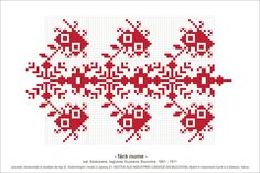 Folk Embroidery, Embroidery Patterns, Knitting Patterns, Cross Stitch Borders, Cross Stitch Patterns, Beading Patterns, Pixel Art, Tapestry, Traditional