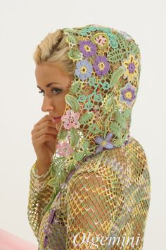 a stunning example of freeform crochet that I really should attempt one day.