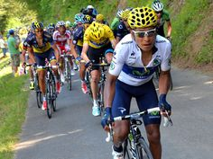 Stage 9: Nairo Quintana attacked four times on La Hourquette d'Ancizan