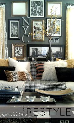 SEASONAL ReStyles (AZ) - From A Simple Shift To Shopping Thrift - Seasonal Restyle by Lynda Quintero-Davids @FOCALPOINT nyclq-focalpoint.... #Seasonal #HomeDecor #Decorating #ReStyle #DIY