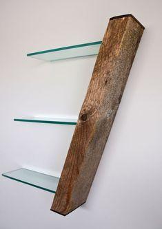 Reclaimed Driftwood Shelf With Hidden Compartment by Craig Kimm  Diese und weitere Taschen auf www.designertaschen-shops.de entdecken