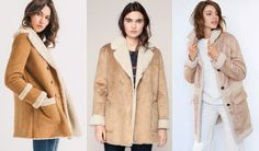3 manteaux façon peau lainée tendances et chauds pour cet hiver >> http://www.taaora.fr/blog/post/manteau-hiver-camel-beige-peau-lainee-doublure-fausse-fourrure-mouton