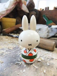 Miffy in the Kimono | Japanese Kokeshi Doll ミッフィーこけし