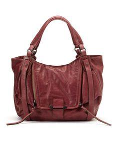 Look at this #zulilyfind! Berry Jonnie Leather Shoulder Bag by Kooba #zulilyfinds