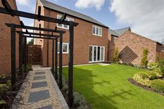 Rear garden of The Canterbury at Crown Park in Chester | Bovis Homes
