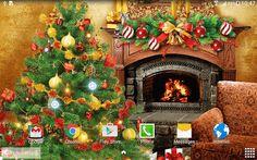 christmas wallpaper for android free downloadcom - Animated Christmas Wallpaper