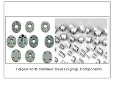 #ForgedParts  #StainlessSteelForgingsComponents  Stainless steel forgings are  very easy for welding with other metal parts. Stainless steel forged parts and components  forgings may reduce costs as they do not need surface treatment. Stainless steel forgings have more mechanical strength compared to Brass forgings and Brass forged components We offer a wide range of Stainless Steel elbows Tee and pipe fittings forged fittings We offer 304 316 grade Stainless Steel forgings.