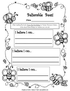 Your kids will buzz with confidence after you teach them how to draw bumblebees using my step-by-step directions. Then have them use this worksheet to write about what they can do! Handouts & answer keys are included. 1st, 2nd, 3rd. $ Follow me at: http://www.teacherspayteachers.com/Store/Linda-Beeghly