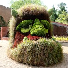Giant Living Sculptures At Atlanta Botanical Gardens' Exhibition | Bored Panda