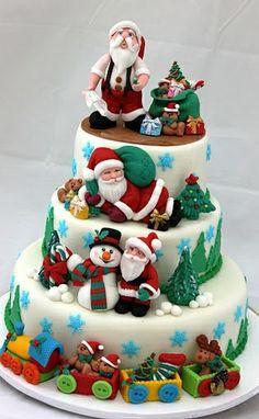 Santa Cake