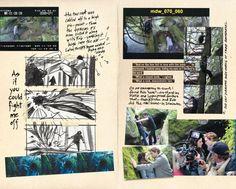 film director's notebook   ... Scans from Director Catherine Hardwicke's Twilight Directors Notebook