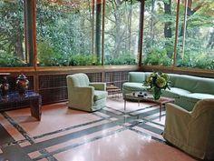 Milan: 1930's Villa Necchi Campiglio Veranda