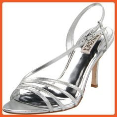 cd6293bd07c1 Badgley Mischka Women s Guinevere Slingback Sandal